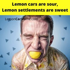 Why its called lemon law compared to society's views on Apples
