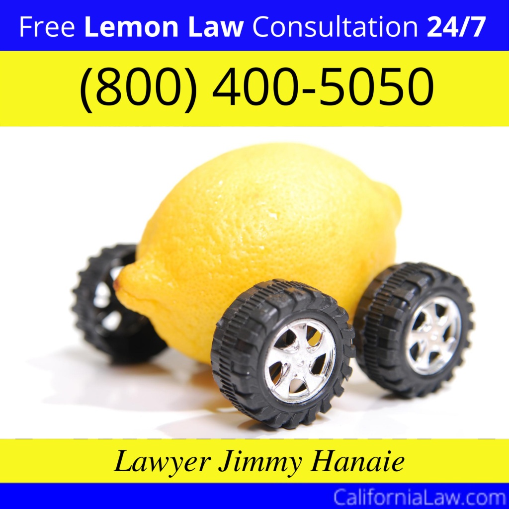 Lemon Law Attorney North San Juan CA