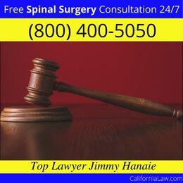 Best North San Juan Spinal Surgery Lawyer