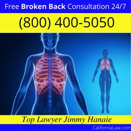 Best Red Bluff Broken Back Lawyer