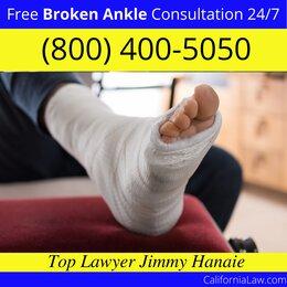 East Irvine Broken Ankle Lawyer
