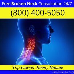 Forest Knolls Broken Neck Lawyer