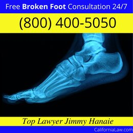 San Jacinto Broken Foot Lawyer