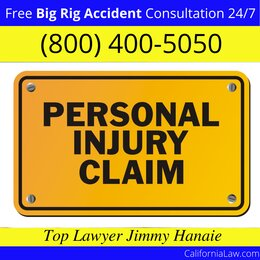 Tarzana Big Rig Truck Accident Lawyer