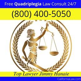 Palo Cedro Quadriplegia Injury Lawyer