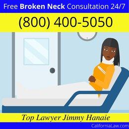 Best California Broken Neck Lawyer