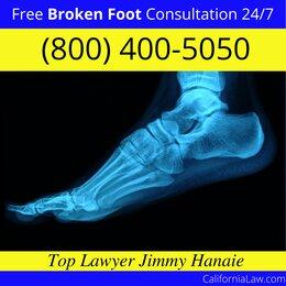 Broken Foot Lawyer California