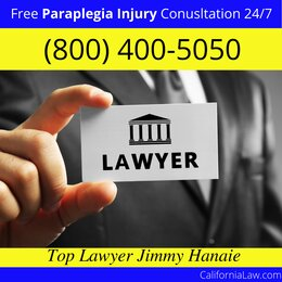 Best California Paraplegia Injury Lawyer